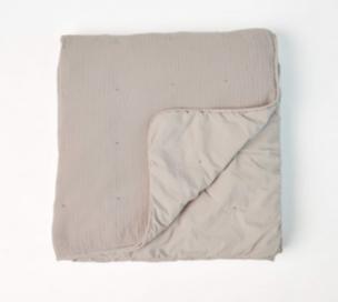 Wohndecke Quilt, Bio-Baumwolle