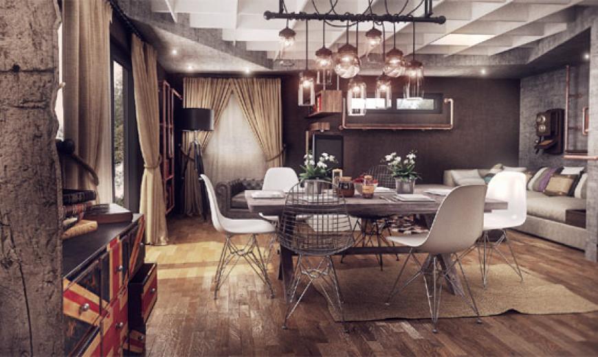 vintage wohnen. Black Bedroom Furniture Sets. Home Design Ideas