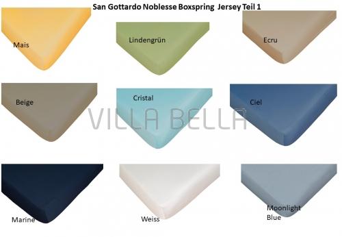 San Gottardo Noblesse Boxspring  Jersey Teil 1