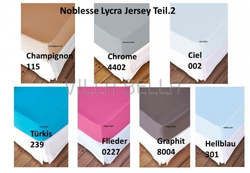 Noblesse Lycra Jersey - Teil 2