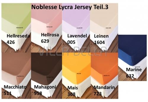 Noblesse Lycra Jersey - Teil 3