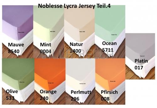 Noblesse Lycra Jersey - Teil 4