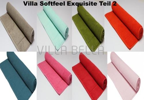Villa Softfeel Exquisit Qualität Waschlappen -Teil 2