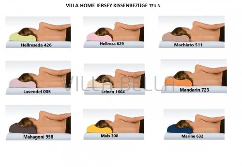 Villa Home Jersey Kissenbezüge 2-er Pack Teil 3