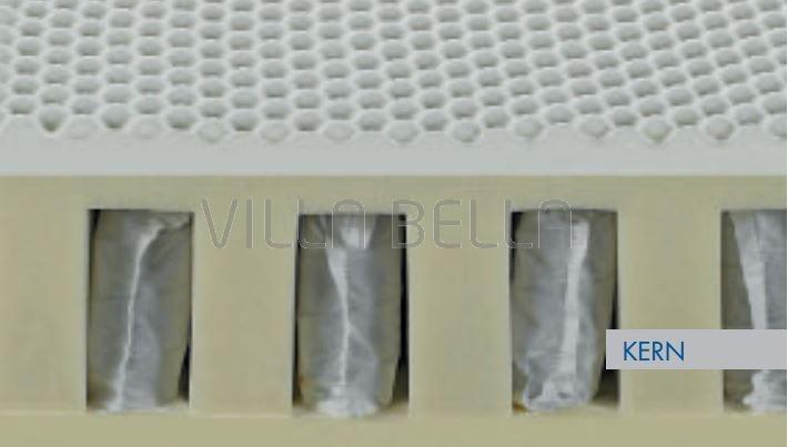 Taschenfederkern-Matratze Siesta H 3 Hart