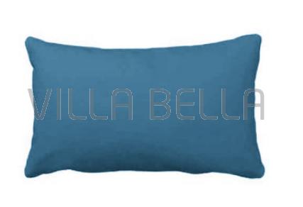 Villa Uni Satin Seablue - Satinbettwäsche