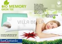 San Gottardo  Grün Tea - Bio Memory - Nackenkissen