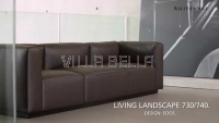 WALTER KNOLL Living Landscape 740 Sofa