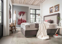 Boxspringbett Comfort Madrid mit Bettkasten