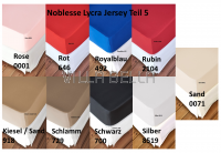Noblesse Lycra Jersey - Teil 5