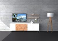 Lowboard Villa Living Holz im Raum