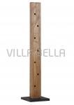 Weinregal -Flaschenregal aus massivem Holz