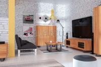 Diavolezza Wohnzimmer Komplett Set A