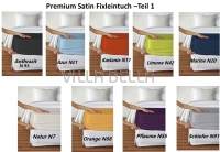 Premium Satin Fixleintuch -Teil 1