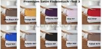 Premium Satin Fixleintuch -Teil 3
