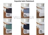 Exquisite Satin Fixleintuch