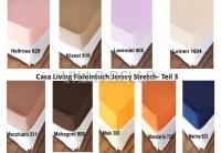 Casa Living Fixleintuch Jersey Stretch- Teil 3