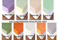 Casa Living Fixleintuch Jersey Stretch- Teil 4