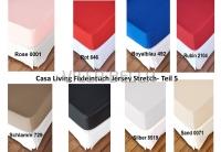 Casa Living Fixleintuch Jersey Stretch- Teil 5