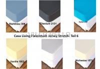 Casa Living Fixleintuch Jersey Stretch- Teil 6