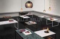 MARA SALONTISCH 60CM  Marble und Wood- Kollektion von SAN  GOTTARDO