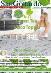 San Gottardo Topper Visco Green Tea