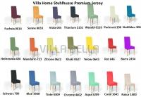 Villa Home Stuhlbezüge Premium Jersey Teil 1
