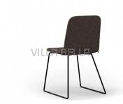 Stuhl PAMP mit Metallfüsse