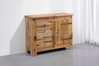 Massivholz Sideboard Castello (1-türig)