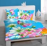 Blumen - Baumwollbettwäsche