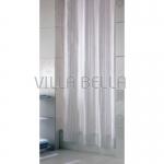 Textil- Duschvorhang streifen