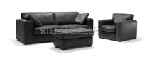 Cabrio Set Sofa Sessel und Hocker