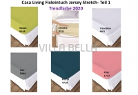 Casa Living Trendfarbe Jersey Stretch- Teil 1