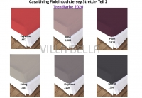 Casa Living Trendfarbe Jersey Stretch- Teil 2