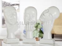 Keramik - Skulptur- Denker