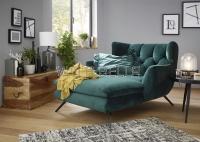 Langseat Modell Seventy im Bezug Velvet Smaragd