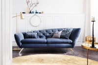 Recamiere Collection Seventy Velvet Navy