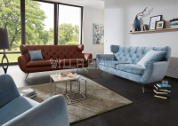 Sofa Leder 3-er Collection Seventy