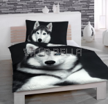 Cold Husky- Baumwollbettwäsche
