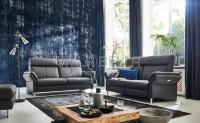 Sofa Set Leder Asra 3+2 er