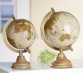Metall Globus gross