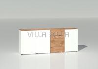 Lowboard Villa Garda mit 4 Schubladen 3 Türen Kleine