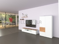 Lowboard Villa Garda Modern Weiss