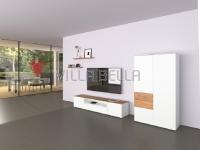 Villa Garda Modern Schrank Weiss