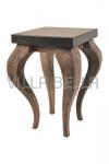 Tisch aus Holz, recycled