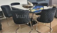 Tisch Set mit 6 Stuhle Vali