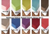 Noblesse Deluxe Topper Elastic Jersey Teil 1