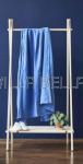 100% Leinen — Oberleintuch Linus blue