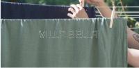 100% Leinen — Oberleintuch Linus fichtengrün