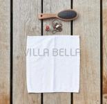 100% Bio-BW Waschlappen — Tilda, weiss